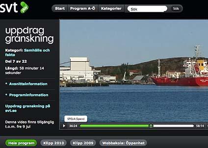 Uppdrag granskning visade hur det norska rederiet hämtade fiskolja till Omega 3-kapslar i Västsahara.
