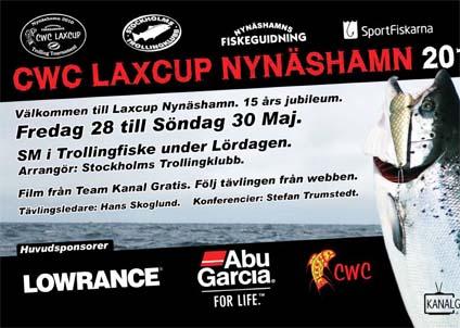 Laxcup Nynäshamn har förnyats och bjuder i år in till en upphottad, häftigare tävling.