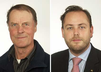 """De båda moderata riksdagsmännen Rune Wikström och Jan R Andersson tycker att """"småfiskare"""" ska få lov att fiska ål."""