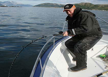 Björlanda sportfiske förmedlar rapporter om framgångsrikt vrakfiske.