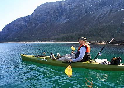 Att glida fram i kajak är en lisa för själen och ett effektivt sätt att närma sig skygga fiskar.