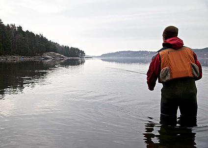 Premiären på västkusten bjöd på vårkänsla men fisket var trögt.