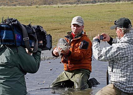 Martin Falklind kommer att visa upp sina unika öringbilder på mässan. Du får också chansen att ställa frågor till honom i en live-chatt.