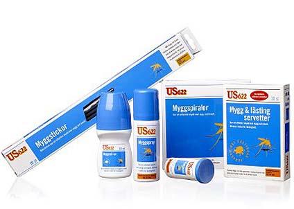 DEET är den verksamma beståndsdelen i de flesta konventionella myggmedlen. Riktigt illa om det slutar fungera...