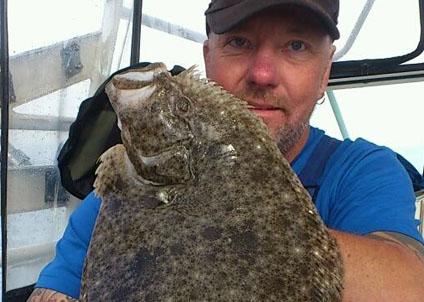 slätvar fångad vid garmin fiskefestival