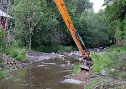 Sportfiskarna restaurerar Sörmländska åar