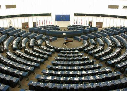 Det var glest mellan delegaterna när EU skulle rösta om fortsatt fiske i det ockuperade Västsahara. (Foto: European Union 2013 EP )