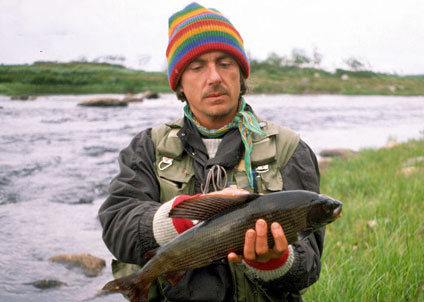 Missa inte Gunnar Westrins föreläsning och fjällfiske – kom till Båtmässans scen på söndag.