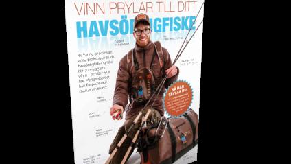 Fullt utrustad för havsöringfisket? Tag chansen och tävla här på fiskejournalen.se. (Foto: Mathias Larsson)