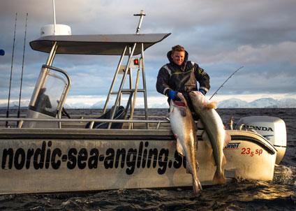 Danska fiskeprofilen Jacob Lindberg är en makalöst driven sportfiskare med ett otal torskar över 30 kilo på sitt samvete.
