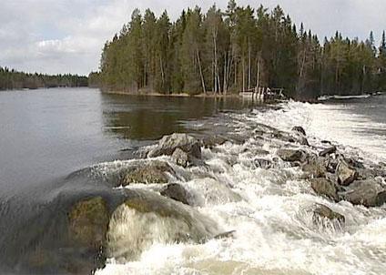 Långforsen i Krokoms kommun, här har Jämtkraft fått tillstånd till att bygga nytt kraftverk.