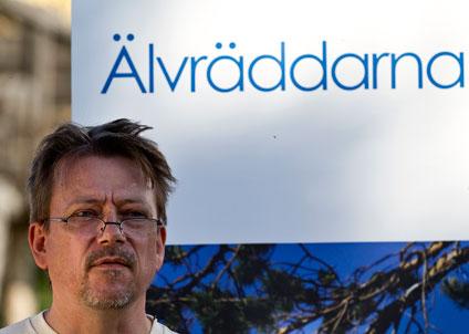 Christer Borg, ordförande i Älvräddarna. (Foto: Dan Forsberg)