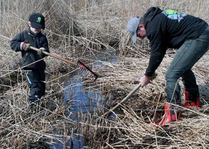 Ideellt fiskevårdsarbete bidrar till bättre vattenmiljöer. (Foto: Bengt Olsson)