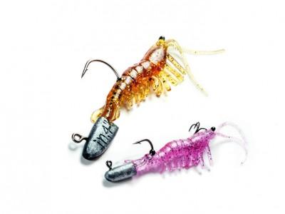 Manic Shrimp är mycket naturrogna och kan tacklas på många sätt.