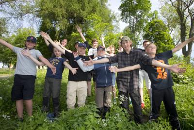 Samtliga tolv finalister som kom till uttagningarna vid Sibbofjärden.