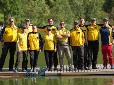 Det svenska laget var framgångsrikt på detta världsmästerskap och kammade hem ett guld, fyra silver och två brons. Foto: Mattias Rosell